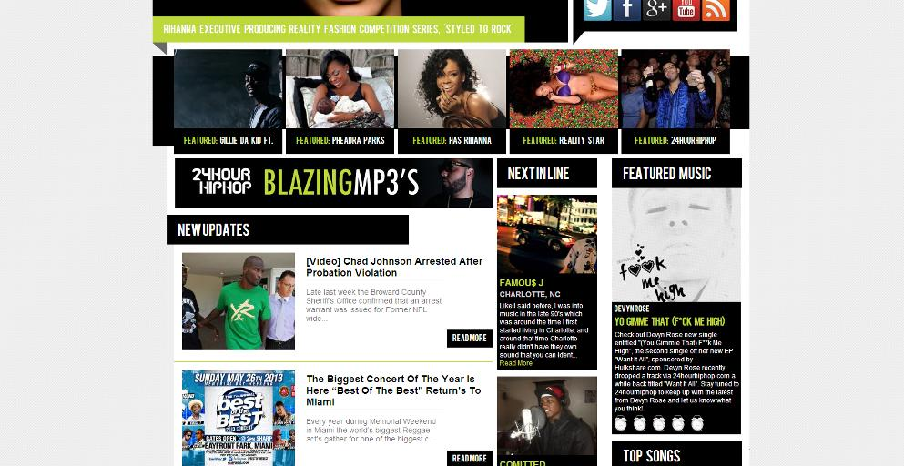 ::New Feature:: Devyn Rose #F**kMeHigh Featured on 24HourHipHop.com!